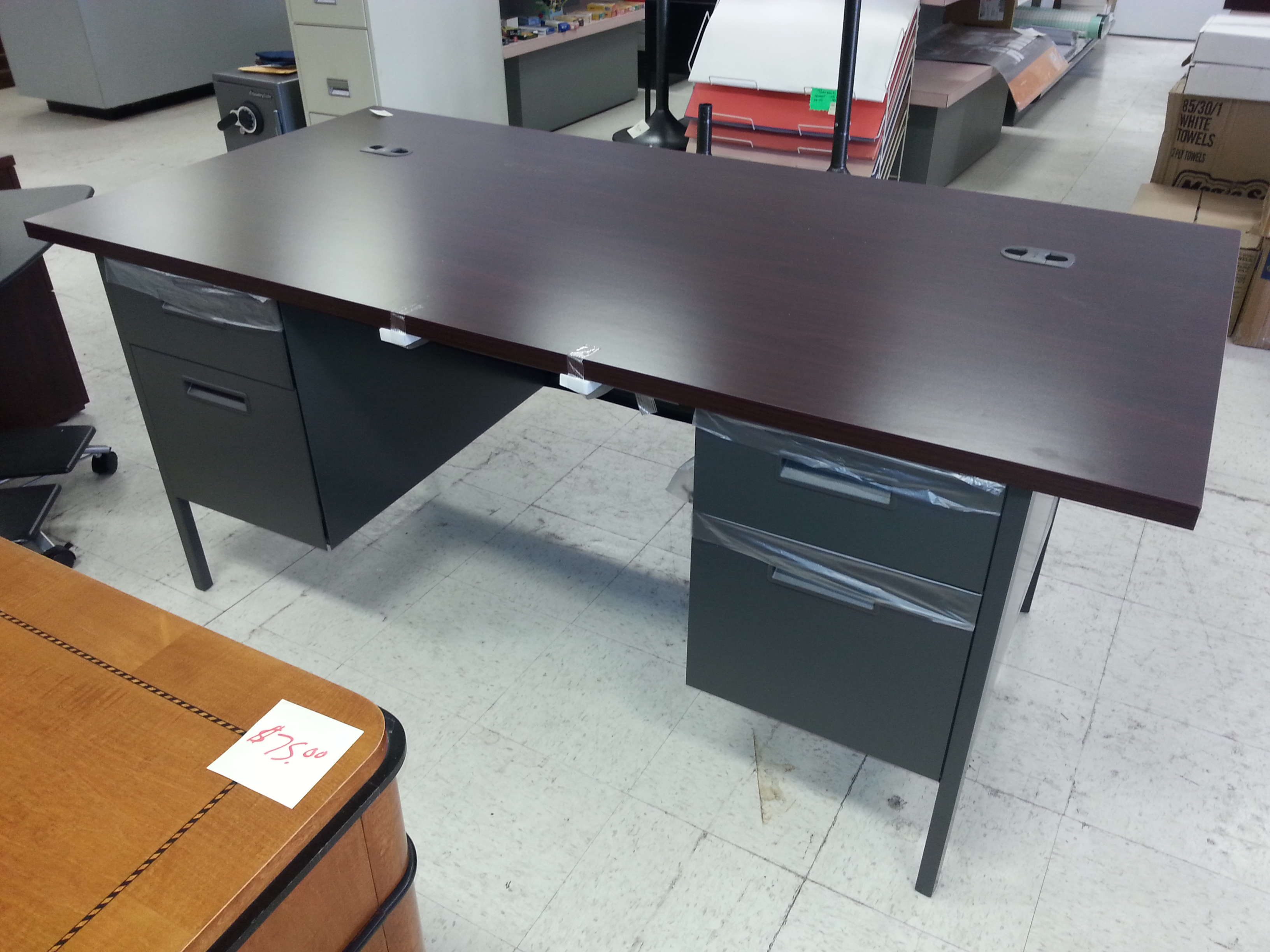 Js Office Supply - 72 x 36 conference table